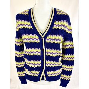 MISSONI Knit Shell Cardigan Sweater Set